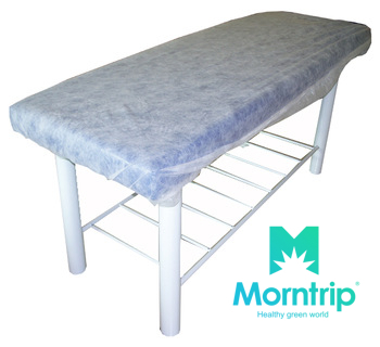 Draps d'ajustement élastique jetable couverture Table de massage chaise faciale spa